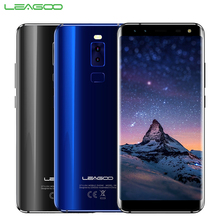 Original LEAGOO S8 Cell Phone 5.7inch 3GB RAM 32GB ROM MTK6750T Octa Core Android 7.0 Four Cameras Fingerprint Smartphone