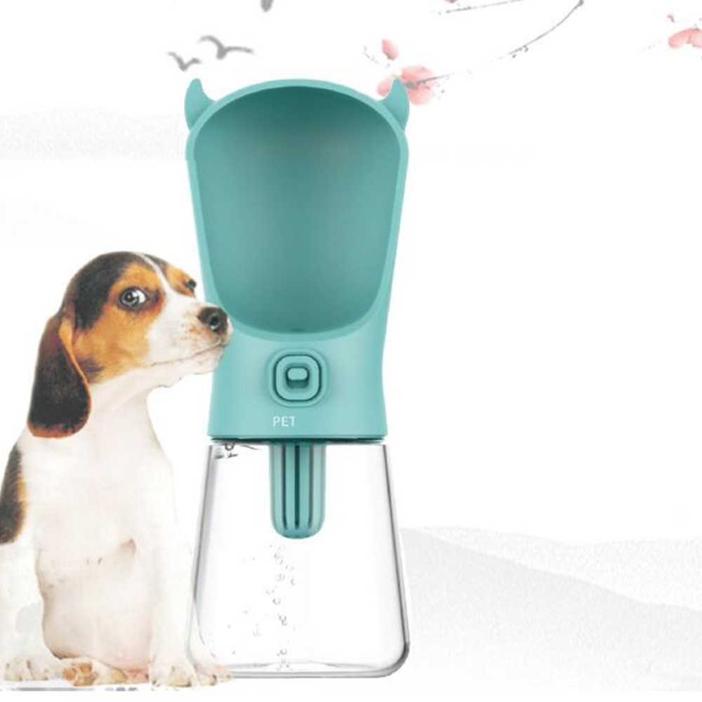 350ml Portable Pet Dog Water Bottle Travel Dog Bowl Cups: 350ML Portable Size Non Toxic Safe Pet Dog Cat Water