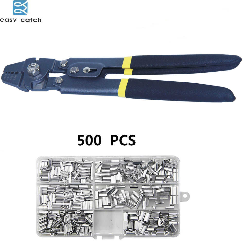 Fishing Crimping Pliers Multi-Functional Wire Cutting Crimp Sleeves Accessory