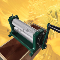 Hot Selling 86*310mm Manual Beeswax Foundation Machine Bee Wax Sheets Machine