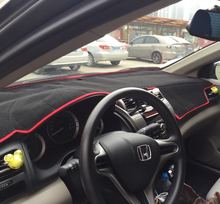 2010 Dashmatsรถจัดแต่งทรงผมอุปกรณ์เสริมฝาครอบแผงควบคุมสำหรับฮอนด้าซิตี้2008 2014 2012