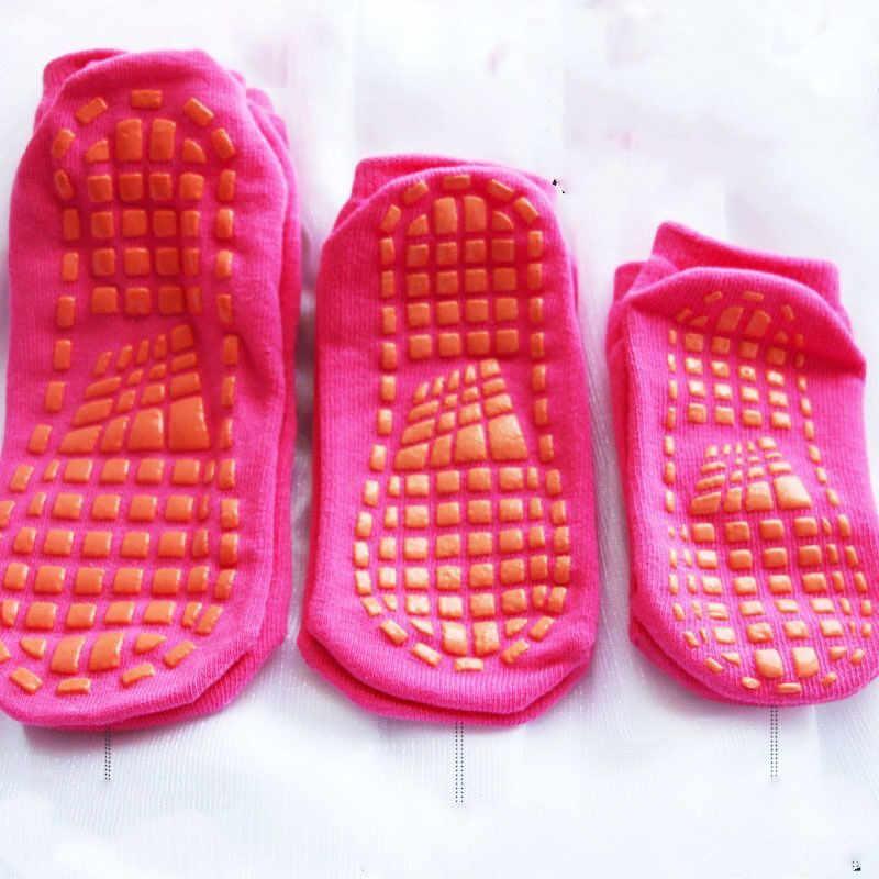 ฤดูใบไม้ร่วง/ฤดูหนาว-slip ถุงเท้า Boy และสาวผ้าขนหนูถุงเท้าถุงเท้าผ้าฝ้ายสี Candy Fluffy ข้อเท้าถุงเท้าหนา