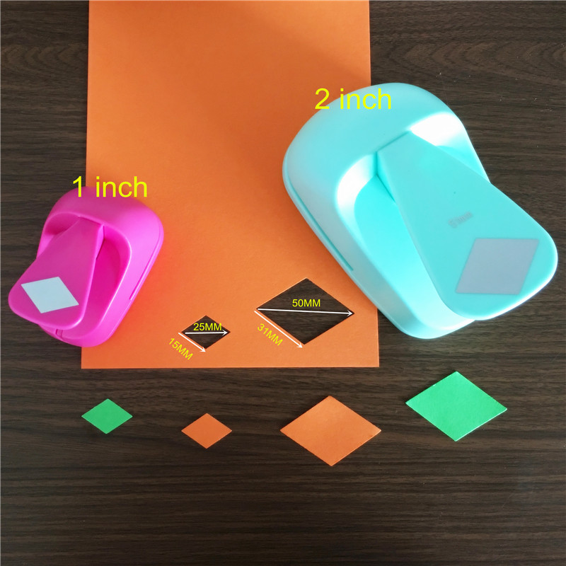 Triangle CADY Crafts Punch 1-Inch Paper Punches Puncher