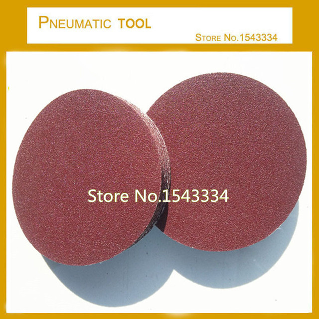 Free Shipping 20 Pcs 9 225MM Sander Sand Paper Sanding Disc 40 60 80 100