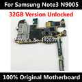 32GB 100% Original Motherboard For Samsung Note 3 N9005 Europe Version Mainboard With Chips IMEI 100% Good working logic board