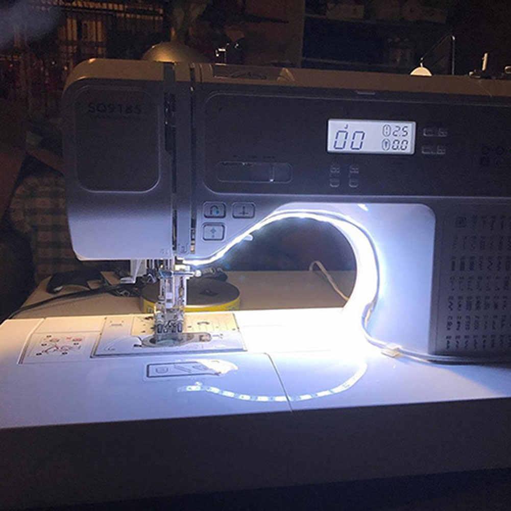 ماكينة خياطة مصباح ليد شرائط المصابيح كيت مع لمس باهتة USB الطاقة لاصق JDH99