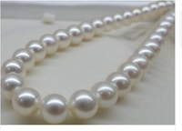 gift word AAAA 17 11 11.5MM ROUND SOUTH SEA WHITE PEARL NECKLACE Factory Wholesale price Giftword for women jewelry