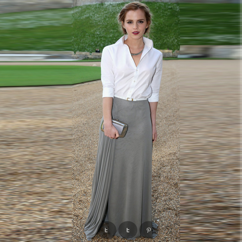 Compare Prices on Gray Maxi Skirts- Online Shopping/Buy Low Price ...