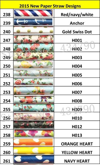 Freies DHL Verschiffen 1000 stücke Papierstrohe Neue Dekorative Vintage Hochzeit Trinkende Papierstrohe Floral Blume Gedruckt prasselte-in Party Einweggeschirr aus Heim und Garten bei  Gruppe 1