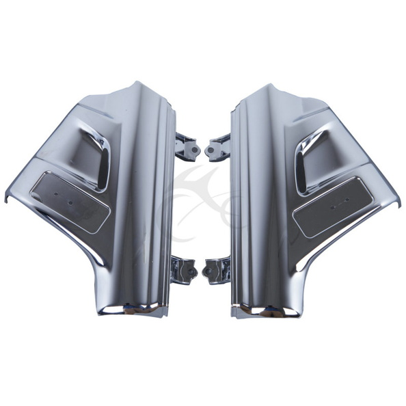 Фото 1 Pair Front Chrome Fender Covers For 2001-2005 Honda GL1800 GOLDWING New. Купить в РФ