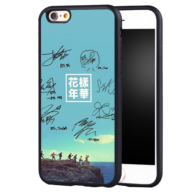 BTS Bangtan Young Forever Music Phone Case Cover For