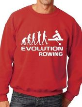 Evolution Of Rowing Rowers Funny Adult Sweatshirt Jumper Birthday Gift More Size and Color-E163