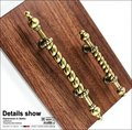 Classical style Bronze Antique Style Cabinet Pull Door Handle( C.C.64 mm Length:131mm)