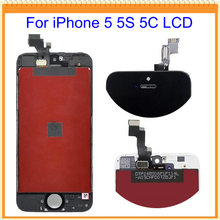 4.0 inch for iPhone 5 5S 5C LCD Screen Display with Touch Screen Digitizer Assembly Replacement Pasts + Tools Free Shipping