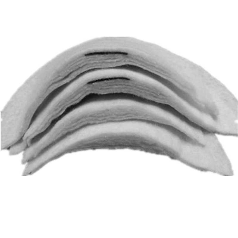 Details about  /10Pairs Comfortable Sewing Sponge Shoulder Pads Soft Covered Shoulder Enhancers