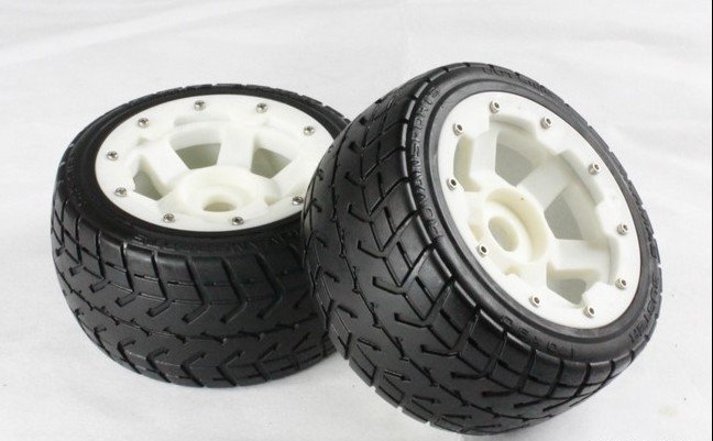 baja 5B  nylon rear highway wheel set ( only rear) lepin 20011 technic series super classic limited edition of off road vehicles model building blocks bricks compatible 41999 gift