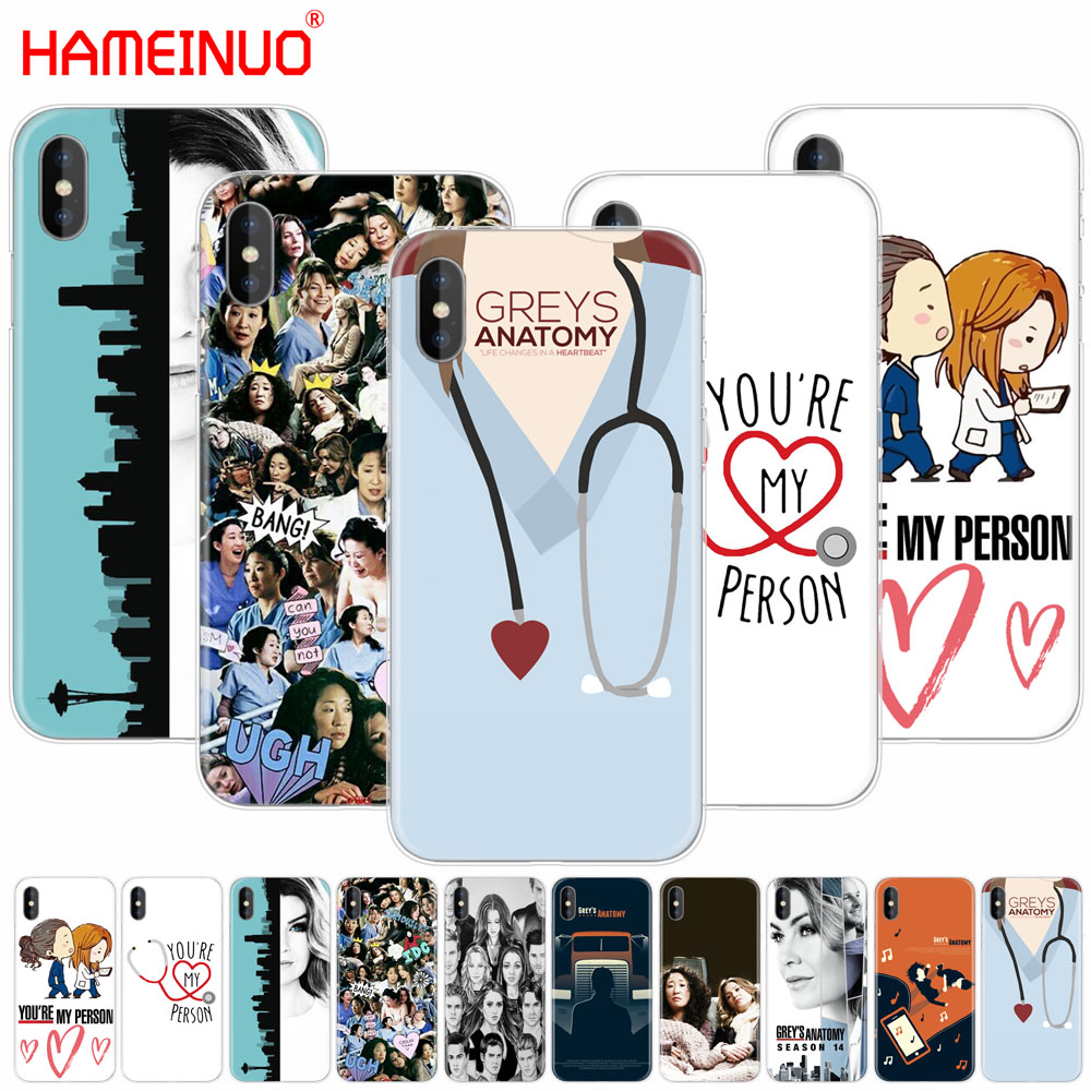 Youre My Person Greys Anatomy Cover Phone Case For Xiaomi Redmi 5 4
