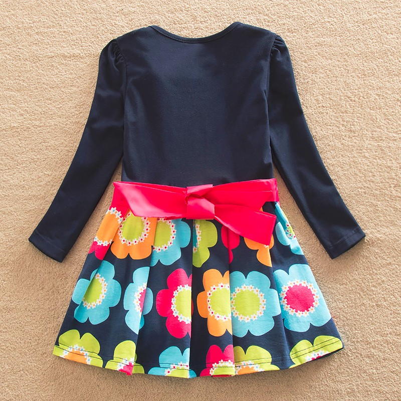 HTB1kCeCQFYqK1RjSZLeq6zXppXa6 DXTON 2018 New Girls Dresses Long Sleeve Baby Girls Winter Dresses Kids Cotton Clothing Casual Dresses for 2-8 Years Children