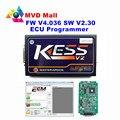 A + Qualidade Unidade Principal Mestre KESS V2 Versão V2.30 Nenhum Token limitada V4.036 Firmware KESS V2 OBD2 Gerente Sintonia Kit Frete Grátis