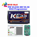 A+ Quality V2.30 KESS V2 Main Unit Master Version No Token Limited Firmware V4.036 KESS V2 OBD2 Manager Tuning Kit Free Shipping