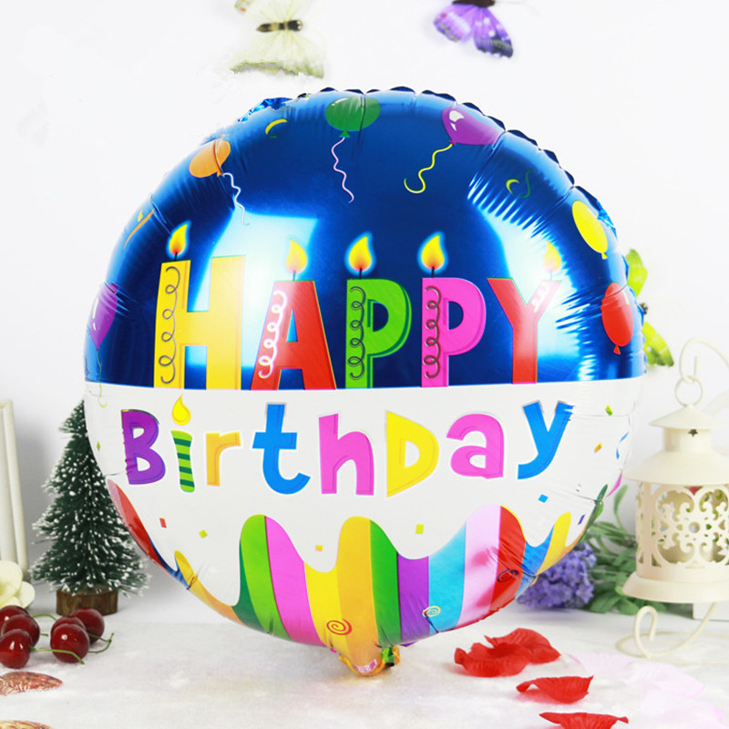 18 inches Globos Happy Birthday Foil Balloons Children ...