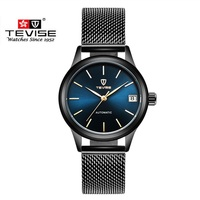 Luxury Brand TEVISE Women Watches Automatic Mechanical Bracelet Watch Ladies Waterproof Steel Dress wrist watches for women