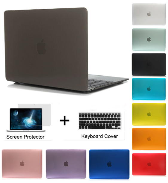 Case for Apple Macbook Pro 13 Retina 13 Air 13 inch with Touch -YCJOYZW Crystal / Matte Hard Full Housing Surface Laptop Cover enkay crystal hard protective case for 13 inch macbook pro with retina display orange