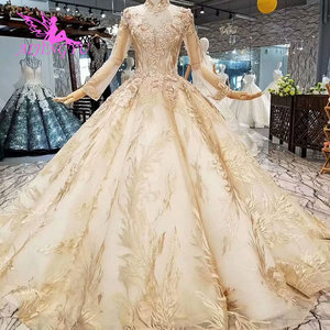 Image 3 - AIJINGYU Womens Wedding Dresses Robe Size Plus Lace Marvel Beads Ready Made Vintage Country Gown Wedding Gowns