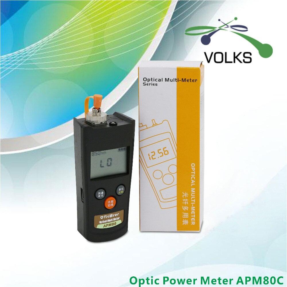 2016 NEW MINI Portable High Precision Optic Power Meter APM80C -50~+26dBm2016 NEW MINI Portable High Precision Optic Power Meter APM80C -50~+26dBm