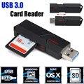 Горячие продажи Высокое качество 2in1 USB 3.0 Карта Micro Sd Reader Высокого скорость Карты Памяти Адаптер Качества 2 в 1 устройство чтения Карт Памяти