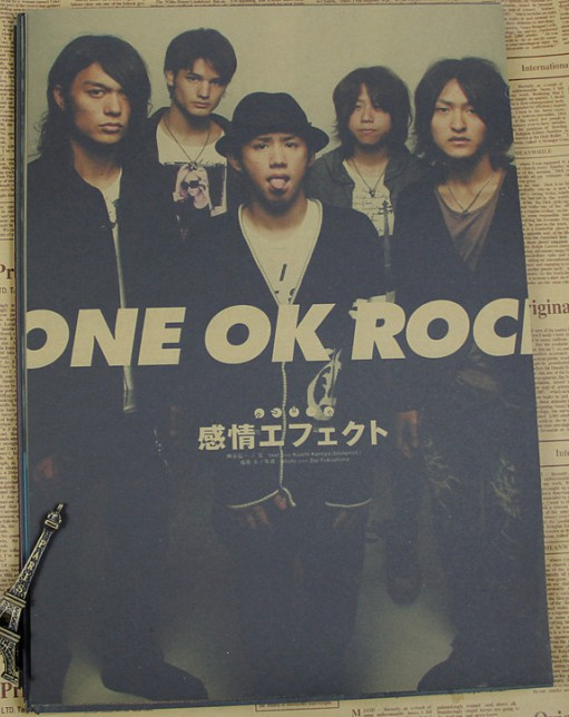 Kraft Paper Posters ONE OK ROCK Japanese Rock Band Stars Wall Stickers  Poster Home Decorative Painting Abooly Brand