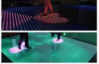 Светодио дный светодиодная плитка бесплатная доставка бар DJ этап интерактивные 12x12 пикселей видео танцпол Свадебные интерактивный танцпол
