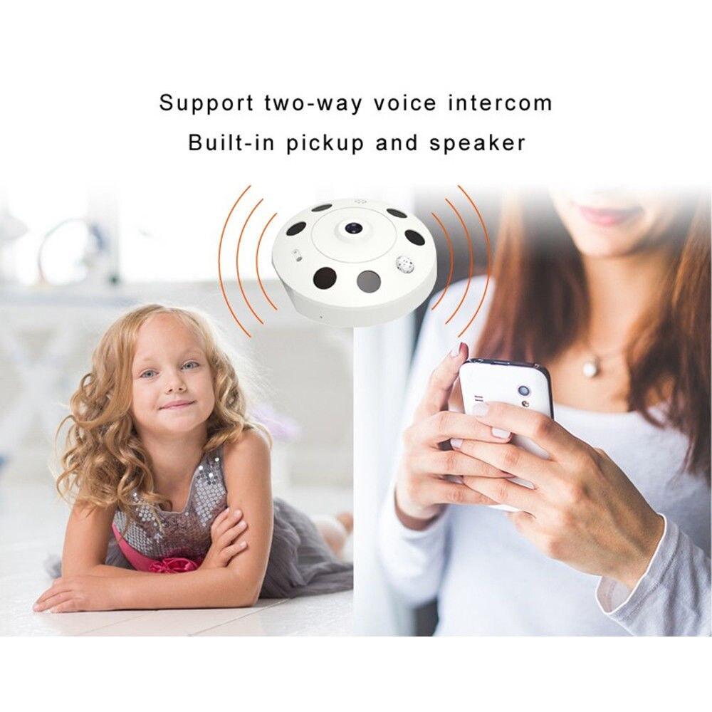 FGHGF IP Camera WiFi 360 Degree Wireless Home Security Camera Surveillance Camera 960P Baby Monitor Night Vision CCTV Camera
