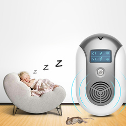 Electronic Ultrasonic Rat Mouse Mice Repellent Rodent Pest Bug Reject Mole Mosquito Cockroaches Repeller Reject US Plug Z30