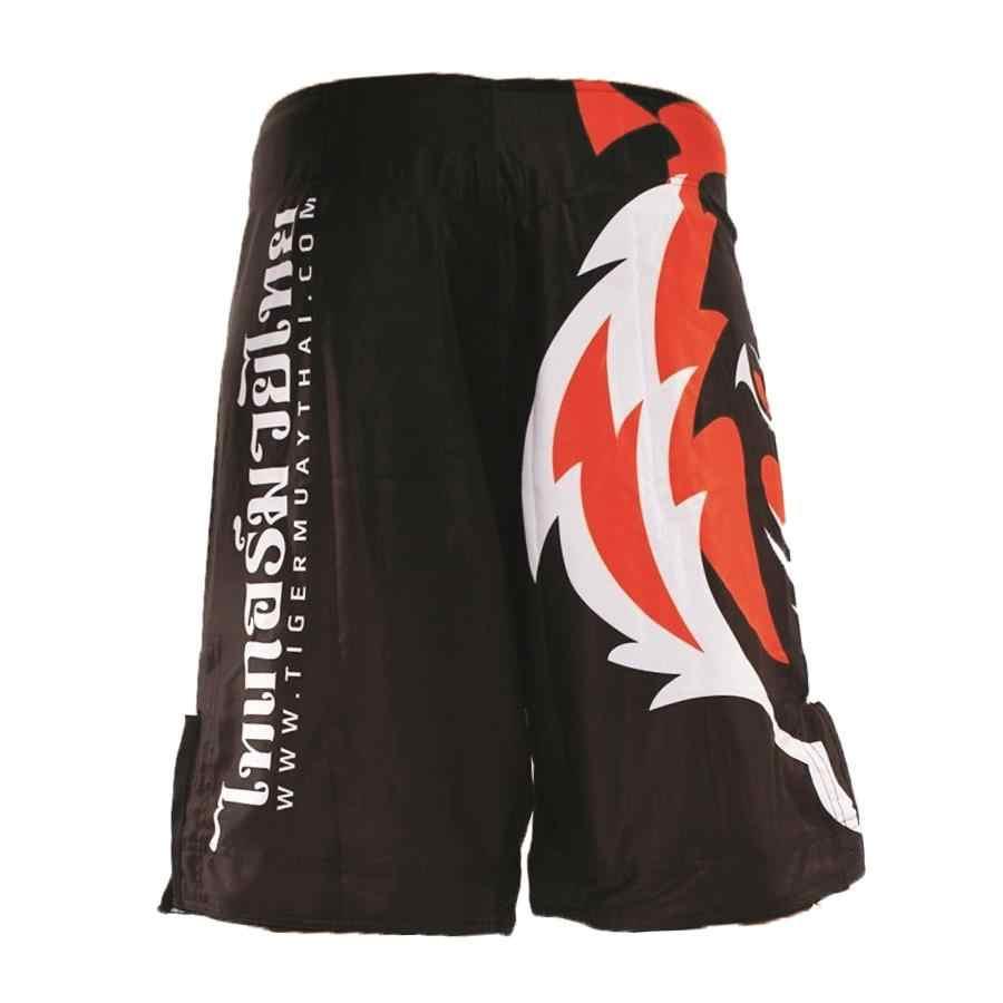Sotf Tiger Muay Thai MMA Celana FIGHTING Sanda Ropa Boxeo Bermuda Pantalones Cortos MMA Kick Tinju Gulat