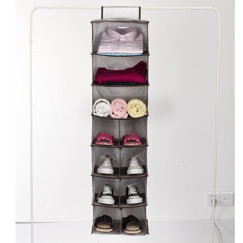 nova shelf vcuo organizador saco organizador caixa de prata coleo pendurado