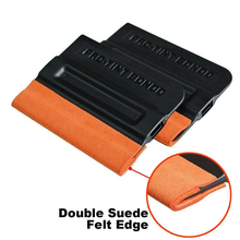 Squeegee Wrapping-Tools Vinyl-Film Felt Auto for Car-Repair Mantain 2pc W/double-Suede