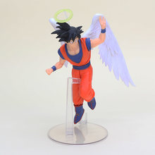 Adeus Anjo DS goku Son Goku DRAGON BALL Dragonball Z vol.1 VITRINE DRAMÁTICA 5th figura toy modelo(China)