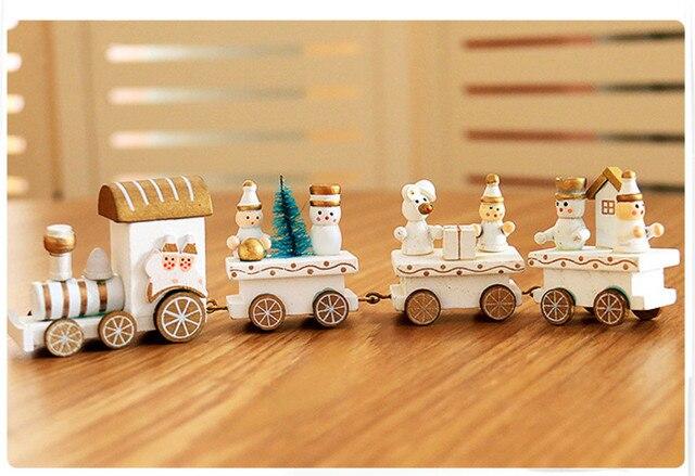 Decorazioni In Legno Per Bambini : Natale in legno piccolo treno tabella decorazioni di natale