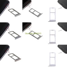 2019 New SIM Card Tray Dual Slot Holder Carrier Replacement Part for Samsung Galaxy S7 Edge/G935/Galaxy S7(China)
