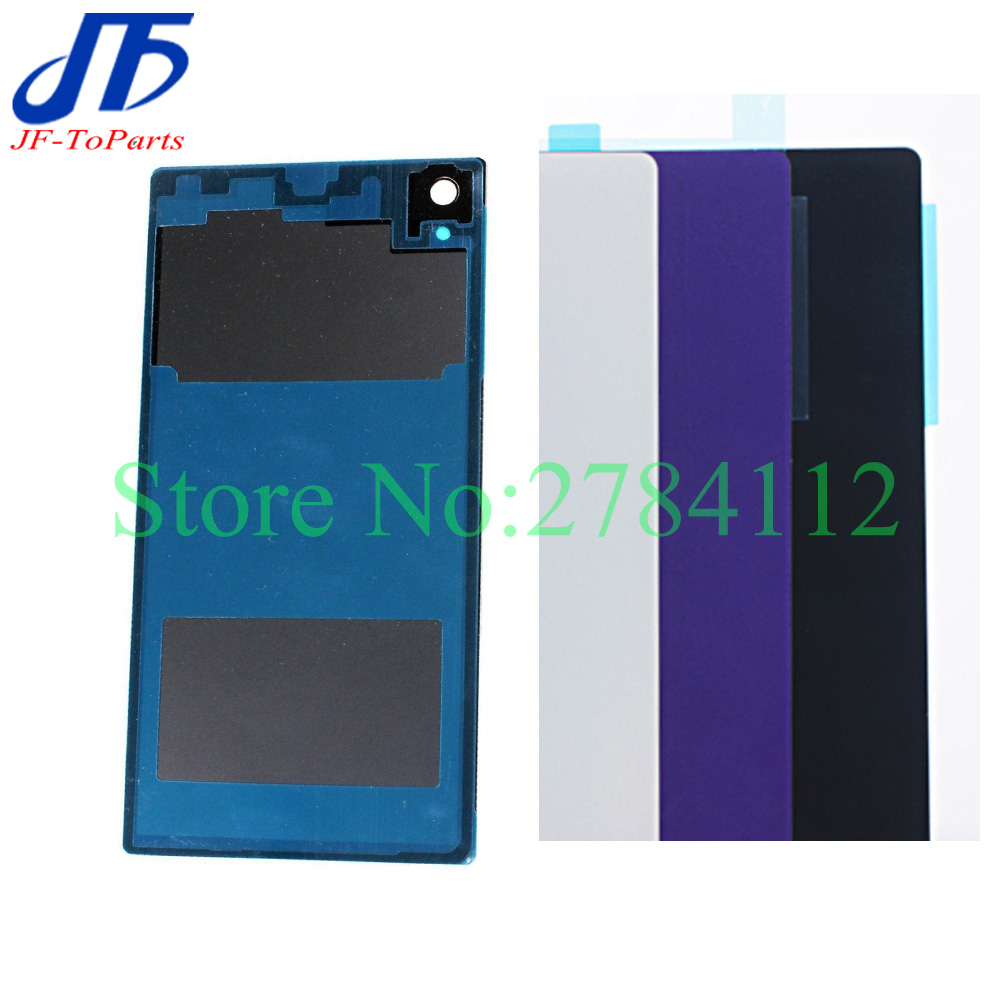 50Pcs Battery Glass Cover Housing replacement For Sony Xperia Z1 L39H Z1 Compact Z1 Mini Back