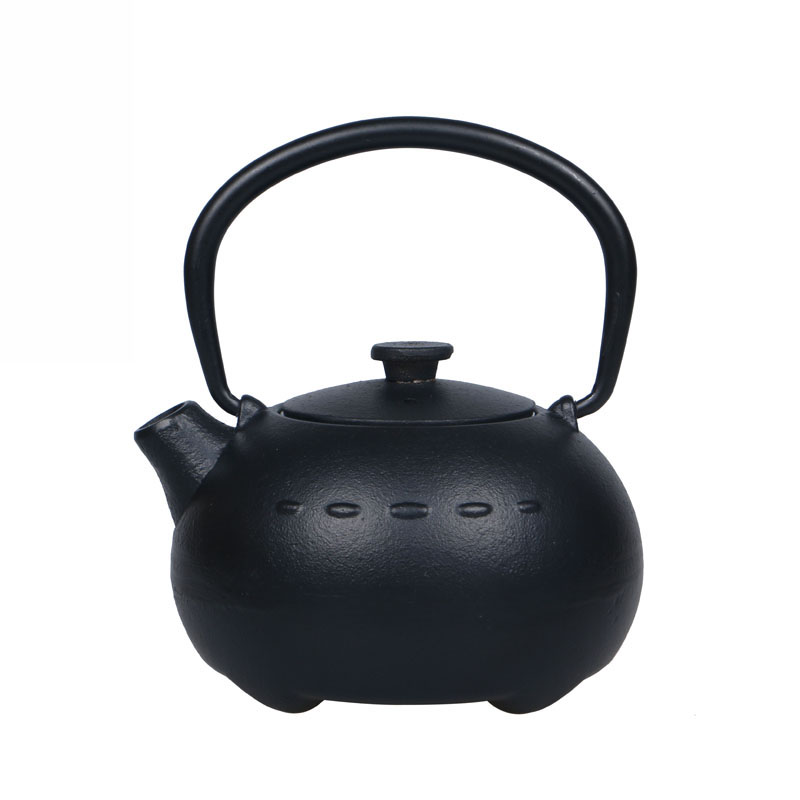 New Genuine Cast Iron Tea Pot Set Japanese Teapot Tetsubin Kettle Drinkware 400ml Kung Fu Tools with Stainless Steel Strainer