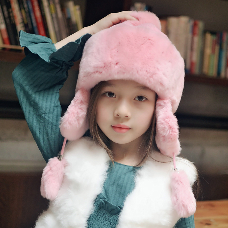 New arrival winter spring for baby, girl, boy Child winter hats rabbit hat rex fur caps lovely fashion hat knitting hat mh rex rabbit fur winter hats female for women vintage flower top casual solid knitted caps skullies beanies w 20