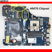 Hot IN RUSSIAN ! LA 9631P For Lenovo G500 laptop motherboard with 4 video memories HM70 chipset (support for pentium processor)