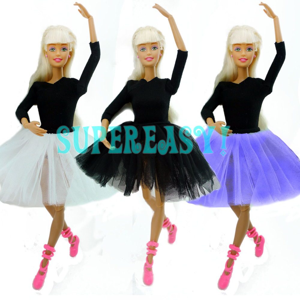 Toys For Dance : Cute dancing costume ballet dress lace skirt clothes for