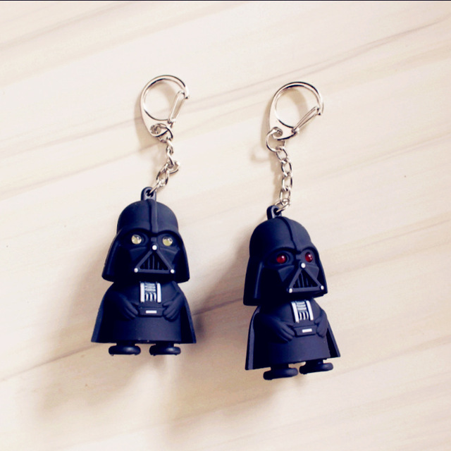 Star Wars Darth Vader Pendant LED KeyChain