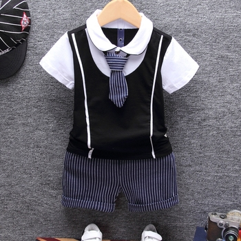 Summer Cotton Baby Clothing Set 1