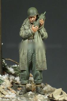 [tuskmodel] 1 35 scale resin model figures kit WW2 U.S. A094 1
