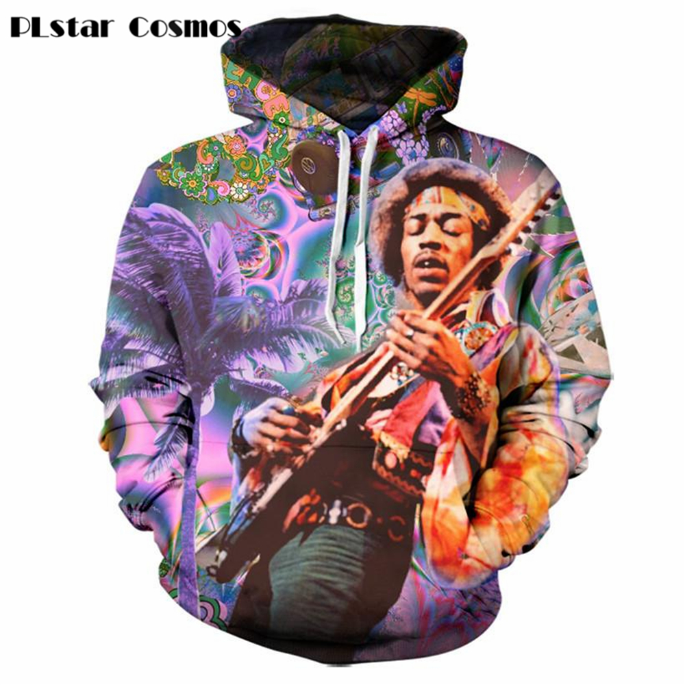 YX GIRL Bob Marley 3D Hoodie Sweatshirt 2018 Unisex Autumn Casual Mens Clothing Outwear Jacket Dropship