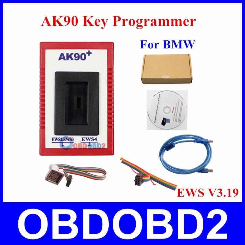 ФОТО Professional Auto Key Programmer AK90+ All EWS Version V3.19 AK90 Key Maker For BMW Free Shipping AK 90